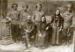 Семья первопоселенцев Нестеровых, 1918 г.