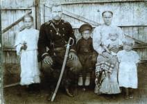Фотография из школьного музея п. Краснинский Верхнеуральского р-на
